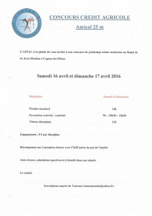 Astac concours credit agricole
