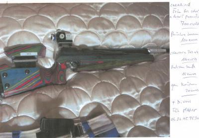 Carabine et equipement