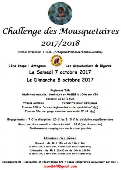 Challenge d mousquetaires 2017 18