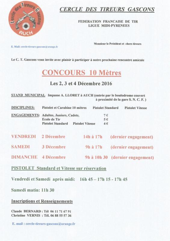 Concours auch dec 2016