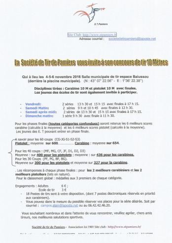 Concours pamiers